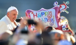 Pope Francis' 78th Birthday Celebration (PHOTOS)