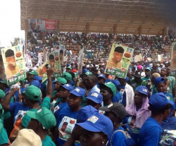 Live Photos From APC Presidential Campaign In Ekiti State [Photos]