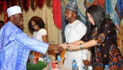 Nollywood Visits Jonathan