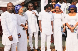 Peter & Paul Okoye's Father Laid To Rest In Anambra State