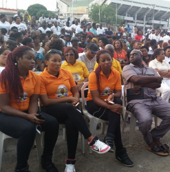 Check Out Photos From The Candle Light Procession For Late Actor, Muna Obiekwe