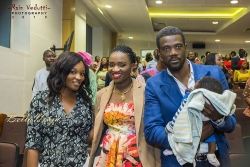 Photos from the Baby Dedication of Ese Walter and Benny Ark