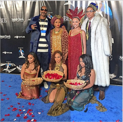 Snoop Dogg Threw A Coming To America Theme Party For 18yr Old Son (PHOTOS)