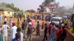 BREAKING NEWS! Bomb Explosion At Kano Motor Park, Human Parts Litters Street