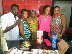 Filmmaker Tunde Kelani 67th birthday Party At Ozone Cinema House,Yaba Lagos