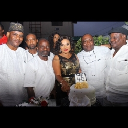 Check Out Photos From Actress, Moji Olaiya's 40th Birthday Party