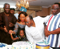 Photos From Billionaire Harry Akande's Birthday Party In Lagos