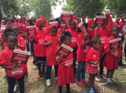 Chibok Girls Ambassadors Match In Remembrance Of The Missing Girls - Photos