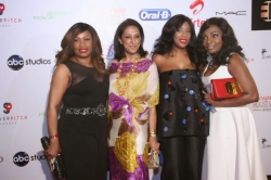 Mo Abudu, Dolapo Oni, Fade Ogunro & More At the Premiere of EbonyLifeTV's ''Despe