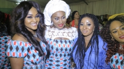 "Mercy Aigbe, Fathia Balogun & More Rock Aso Ebi For Movie Premiere Of Sikiratu Sindodo's ""Khadij"