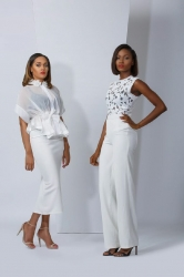 Wow! Wizkid's Boo Tania Omotayo Gets Her Model On For MAJU's New Collection…Are You Feelin' It?