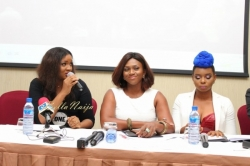 Yemi Alade, Omotola  & Waje attend the Official Launch of 'Strong Girl' for Women Empowerment