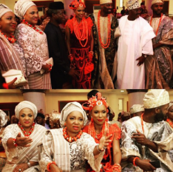 Check Out Faces At The Wedding Ceremony Of Pastor Paul Adefarasin's Nephew