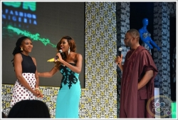 Denrele Edun, Mo Abudu, Yemi Alade & More Celebrities Attend African Fashion Week Nigeria 2015