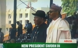 Photos From The President Buhari's Inauguration Ceremony