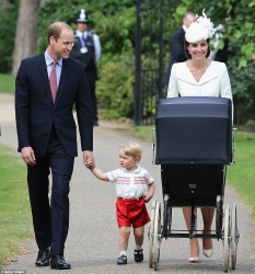 Photos From Christening Of Duke And Duchess Of Cambridge's Princess