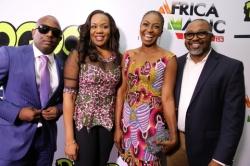 Ini Edo, Bovi, Basorge Tariah Grace The Red Carpet At Premiere Of